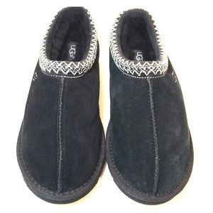 NEW Ugg Women's Black Slip-On Tasman Slipper Shoes